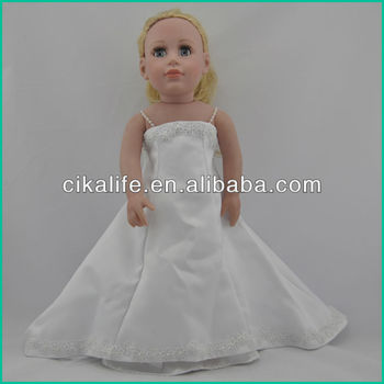 Eco-friendly cotton fit Corolle Robert Tonner Matt O'Neill White Tennis Doll clothing