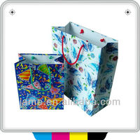 customized full color printing bag paper products