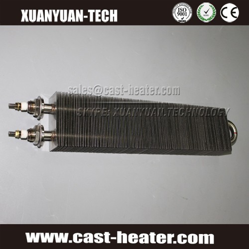 tubular fins air heater element