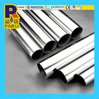 SCH 80 SUS 304 304L 316 316L 409L Round Seamless Stainless Steel Pipe