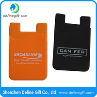 cell phone accessories wholesale silicone id card holder wallet