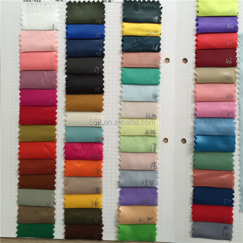 wholesale cheap 30D plain polyester satin <strong>fabric</strong> for garment