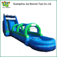 Giant inflatable tube water slide for sale, wave water slide