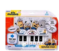 Minions Sound Pads Despicable Me2 Piano Music Singing Laughing Exclusive Kevin