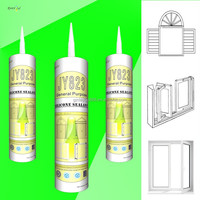 JY823 Door & Window Special Use Weather Resistant Silicone Sealant glass cement