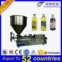 Trade assurance CE certification semi automatic soybean oil filler,manual liquid filling machine