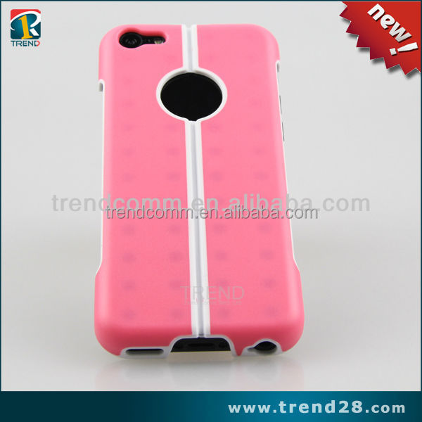 unique kickstand pc cell phone case for iphone 5c
