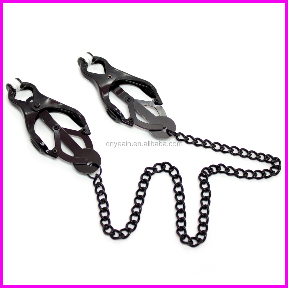 Japanese Clover Nipple Clamps,woman sex toys, nipple sex toys