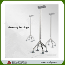 best price stainless steel walker with four feet
