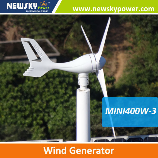 home use 12V/24V wind generator 2014 new products 400w wind power