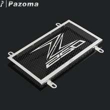 Wholesale Fashion Style Radiator Motorcycle Cover Staniless Steel Chrome Radiator Grill For Kawasaki Ninja 250 / Z250 2013-2016