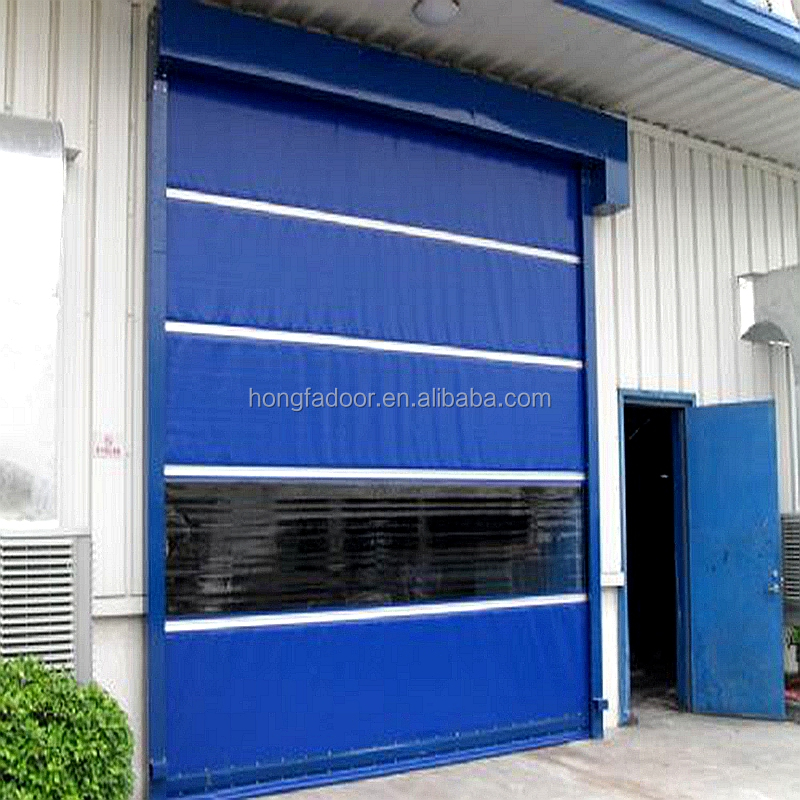 alibaba China Suppliers Screen Cheap Security Automatic Sliding High Speed Cold Room Door