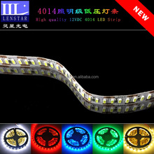 Hot sale 240PCS of high brightness SMD 4014 LED per meter high quality 12VDC Non-waterproof type Flexible LED Strip