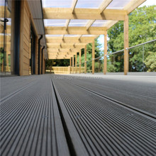 High quality thermowood decking synthetic outdoor plastic pvc flooring