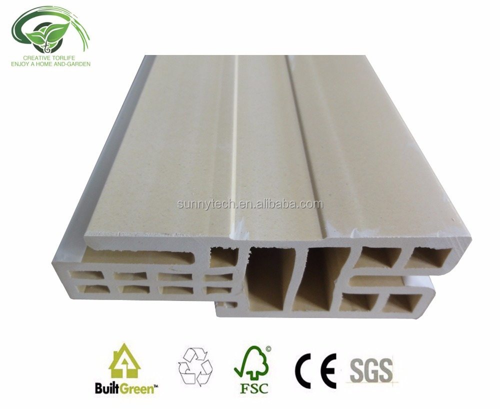 Top quality modern cheap wood plastic composite wpc door frame