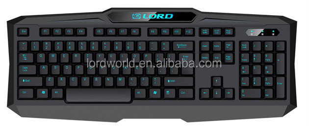 backlit led gaming keyboard for laptop,smartphone,Tablet PC Application