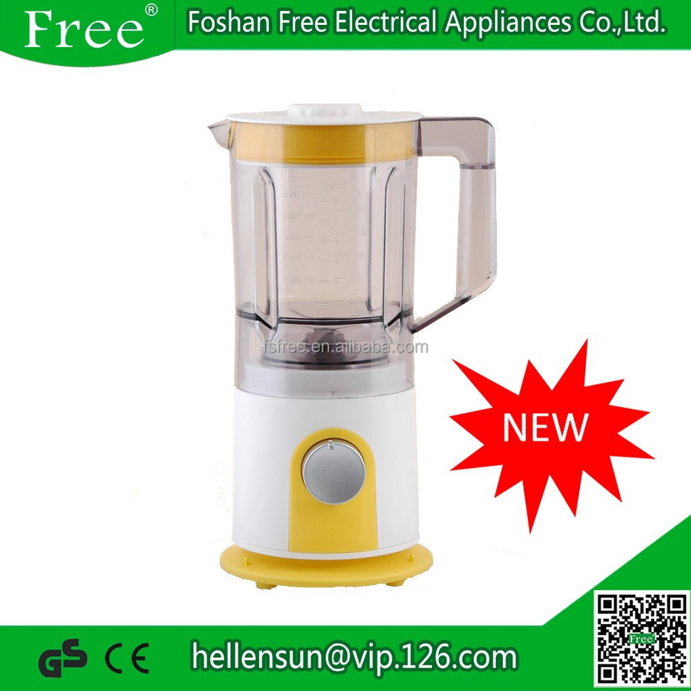 Home Use Fruit Electric Blender Plastic Jar