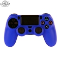 Protective Pure color for PS4 controller soft silicone case cover