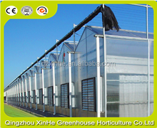 High tunnel greenhouse for agricultural equipments