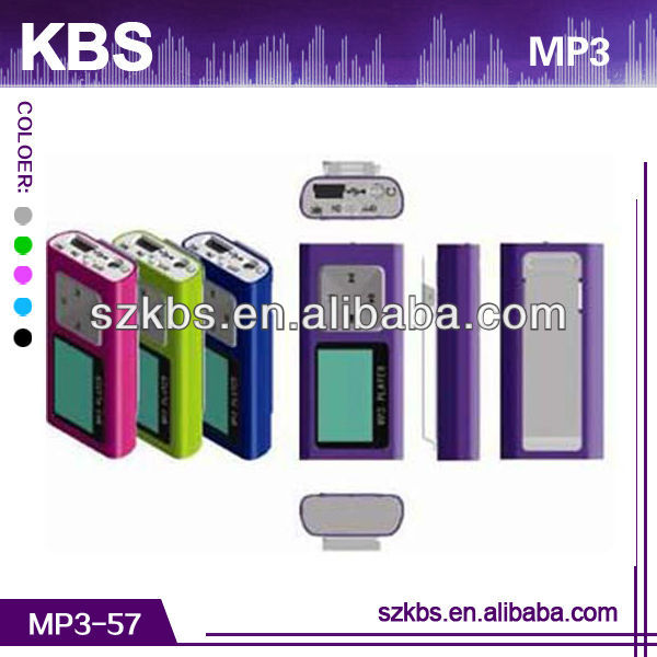 High Quality Hot Sell Mini Fm Radio Mp3 Player With TXT E- Book Reading Function