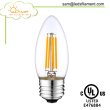 low voltage LED Edison E12 E14 E27 candle 3V 6V 3.5W battery operated led light bulbs