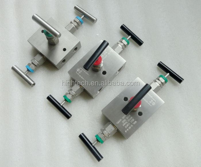 In line three valve manifolds instrument buy