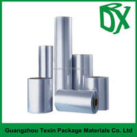 PVC clear heat shrink palstic film in roll