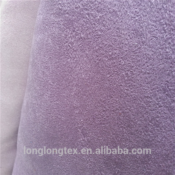 high quality polyester woven suede fabric with best quality and low price
