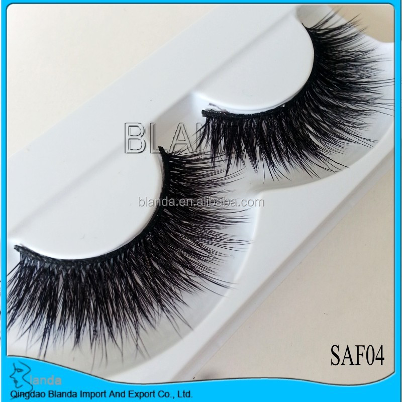 2018 hot selling top quality 3d silk lashes and 3d synthetic lashes and 3d fake mink lashes