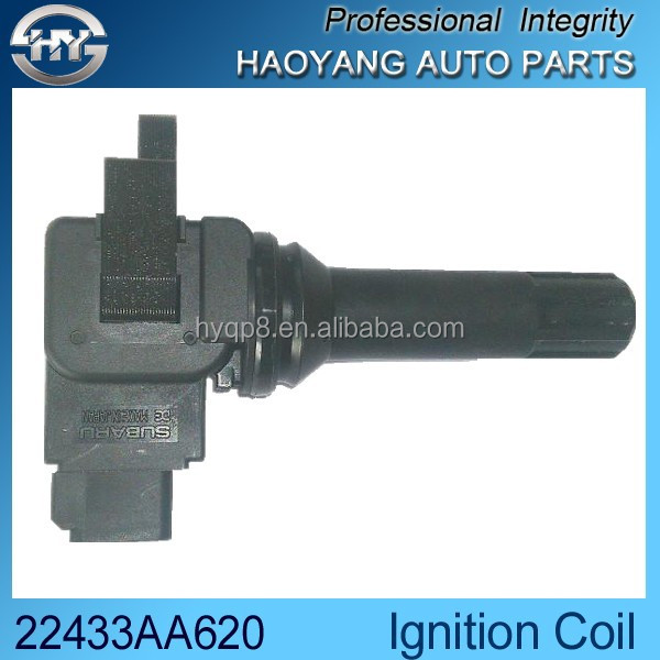 China supplier car ignition system 22433AA620 high quality universal oil ignition coil automobile parts
