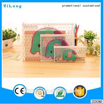 High-capacity plastic pockets file folder plastic pouch