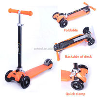 New model patent royal quality scooter 4 wheels foldable kick scooter mini m-cro scooter