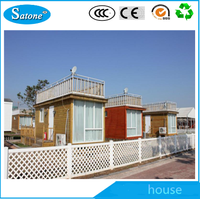Low cost home economic prefabricated high quality houses modern steel villa
