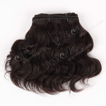 10 inch natural wave cheap human hair extensions on sale