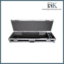 aluminum tool flight case vertical keyboard case