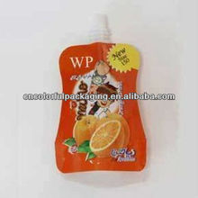 spout pouch/juice pouch bag/food packing nylon bags