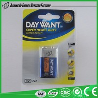 Low Price China Manufacturer Alibaba Suppliers Dry Battery 9V Volta Batteries