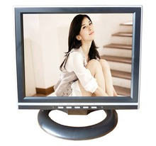 Black color vesa desktop 1024*768 4:3 13inch square size small size lcd tv