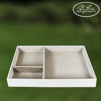 Jewelry Ring Earrings Display Box Storage Case Holder Organizer Tray