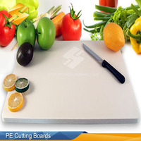 Environmental Protection Cheap Price Antibacterial Vegetable PE Cutting Board Chopping Block With Good Quality