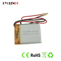 rechargeable battery 403035 li-polymer battery 3.7v with 400mah small battery