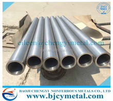 china manufacturer hot sale 99.95% high purity tungsten pipe