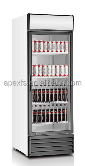 650L Vertical Showcase Upright Beverage chiller