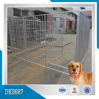 Outdoor Dog Kennel With 12 Panels