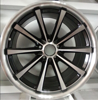china cheap aluminum alloy wheel 18x10 inches car wheel rims/alloy wheel 5x114.3