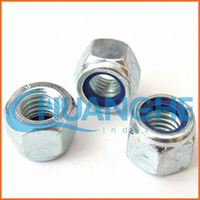 china supplier titanium lock nuts with nylon insert
