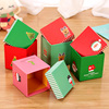 2016 Majorin colorful and cute christmas decoration box for gift with high quality