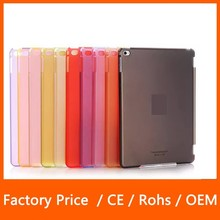 For iPad Air Ultra-thin Screen Protector Clear PC Hard Back +Smart Cover Partner Matte Case