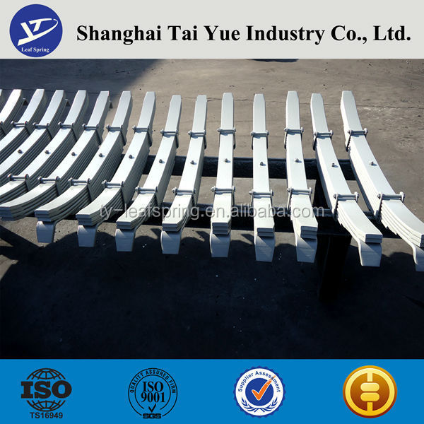 TAI YUE Factory Truck Parts Truck Spring Leaf Assembly