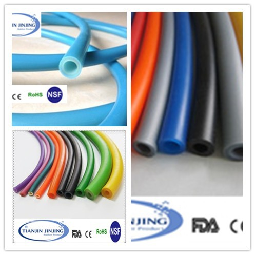 quality customized thin wall silicone rubber tubing